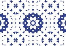 εθνικό πρότυπο abstract kaleidoscope Στοκ φωτογραφία με δικαίωμα ελεύθερης χρήσης