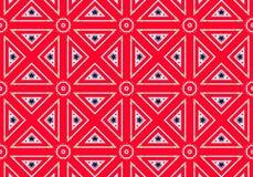 εθνικό πρότυπο abstract kaleidoscope Στοκ Εικόνες
