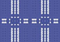 εθνικό πρότυπο abstract kaleidoscope Στοκ φωτογραφίες με δικαίωμα ελεύθερης χρήσης
