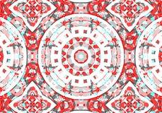εθνικό πρότυπο abstract kaleidoscope απεικόνιση αποθεμάτων