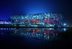 εθνικό στάδιο του Πεκίνο& στοκ φωτογραφία με δικαίωμα ελεύθερης χρήσης