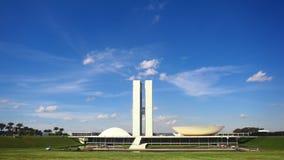 Εθνικό συνέδριο της Βραζιλίας απόθεμα βίντεο