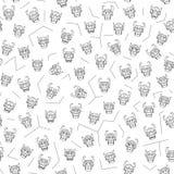 Εθνικό σχέδιο μασκών χρώματος τυπωμένων υλών διανυσματική απεικόνιση