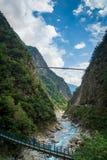Εθνικό τοπίο φαραγγιών πάρκων Taroko σε Hualien, Ταϊβάν στοκ φωτογραφίες με δικαίωμα ελεύθερης χρήσης