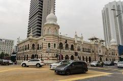 Εθνικό υφαντικό μουσείο στη Κουάλα Λουμπούρ, Μαλαισία Στοκ Εικόνες