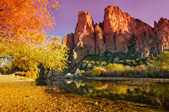 Εθνικό φαράγγι πάρκων AZ Tonto στοκ εικόνες