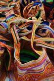 Εθνικό ύφασμα τσαντών Στοκ φωτογραφία με δικαίωμα ελεύθερης χρήσης