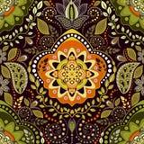 Εθνικό floral άνευ ραφής σχέδιο Στοκ φωτογραφία με δικαίωμα ελεύθερης χρήσης