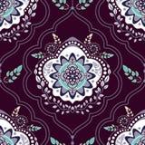 Εθνικό floral άνευ ραφής σχέδιο Στοκ εικόνα με δικαίωμα ελεύθερης χρήσης