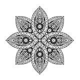 Εθνικό mandala διακοσμήσεων επίσης corel σύρετε το διάνυσμα απεικόνισης διανυσματική απεικόνιση