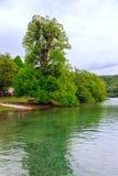 εθνικό plitvice πάρκων λιμνών της Κ&rh Στοκ Εικόνες