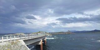 Εθνικό touristroad Στοκ εικόνα με δικαίωμα ελεύθερης χρήσης