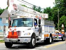 εθνικό truck υπηρεσιών δικτύο&up στοκ φωτογραφία