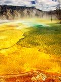 εθνικό yellowstone πάρκων Στοκ Φωτογραφίες