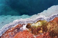 εθνικό yellowstone ύδατος πάρκων Στοκ Φωτογραφίες