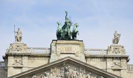 Εθνογραφικό μουσείο, Βουδαπέστη Στοκ Εικόνες