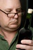 Ειδήμων κρασιού στοκ φωτογραφία