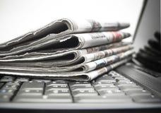 ειδήσεις on-line Στοκ Φωτογραφία