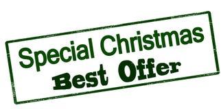Ειδική καλύτερη προσφορά Χριστουγέννων Στοκ Εικόνα