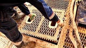 Ειδική λάσπη διατρήσεων για τη διάτρηση πετρελαιοπηγών απόθεμα βίντεο