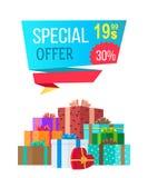 Ειδική προσφορά 19 99 αποκλειστική πώληση προτάσεων ελεύθερη απεικόνιση δικαιώματος