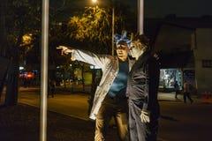 Ειδικό γεγονός - Δυτικό Χόλιγουντ αποκριές Carnaval Στοκ Εικόνες