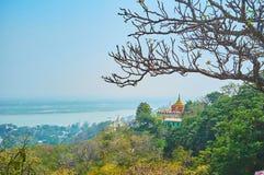 Ειδυλλιακή φύση Sagaing στοκ εικόνα με δικαίωμα ελεύθερης χρήσης