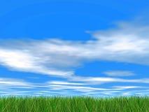 ειδυλλιακός ουρανός Στοκ φωτογραφία με δικαίωμα ελεύθερης χρήσης