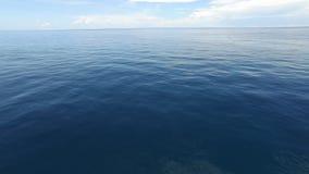 Ειδυλλιακός ωκεάνιος ορίζοντας απόθεμα βίντεο