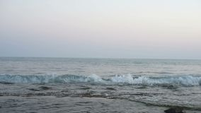 Ειδυλλιακό seascape της Μεσογείου απόθεμα βίντεο
