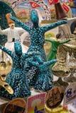 Ειδώλια για την πώληση στο μεγάλο Bazaar στη Ιστανμπούλ Στοκ Εικόνες