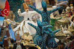 Ειδώλια για την πώληση στο μεγάλο Bazaar στη Ιστανμπούλ Στοκ εικόνα με δικαίωμα ελεύθερης χρήσης