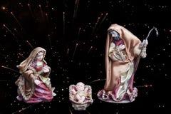 ειδώλια Χριστουγέννων στοκ εικόνες με δικαίωμα ελεύθερης χρήσης