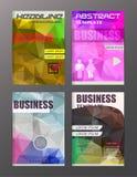 Εικονίδια επιχειρήσεων και τεχνολογίας σχεδιασμού ιπτάμενων, δημιουργικό πρότυπο Στοκ φωτογραφία με δικαίωμα ελεύθερης χρήσης