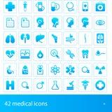 εικονίδια ιατρικά απεικόνιση αποθεμάτων
