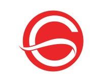 Εικονίδια λογότυπων Γ και προτύπων συμβόλων Στοκ Εικόνες