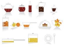 εικονίδια μαγείρων Στοκ φωτογραφία με δικαίωμα ελεύθερης χρήσης
