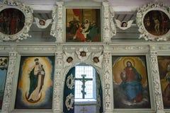 Εικονίδια της εκκλησίας του αποστόλου Peter, στις 8 Αυγούστου 2017 Στοκ φωτογραφία με δικαίωμα ελεύθερης χρήσης