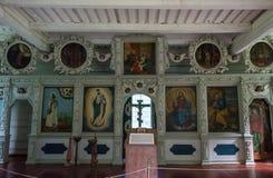Εικονίδια της εκκλησίας του αποστόλου Peter, στις 8 Αυγούστου 2017 Στοκ Εικόνες