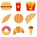 εικονίδια τροφίμων που τί&th Διανυσματική απεικόνιση EPS10 Στοκ φωτογραφία με δικαίωμα ελεύθερης χρήσης