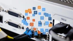 Εικονίδια των ψηφιακών εφαρμογών διανυσματική απεικόνιση