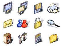 εικονίδια υπολογιστών ελεύθερη απεικόνιση δικαιώματος