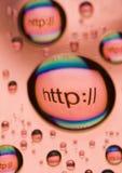 εικονίδια HTTP Στοκ φωτογραφίες με δικαίωμα ελεύθερης χρήσης
