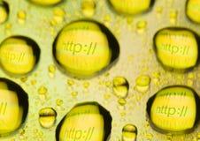 εικονίδια HTTP Στοκ Εικόνες