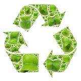 εικονίδιο ανακύκλωσης Στοκ Φωτογραφίες