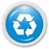 εικονίδιο ανακύκλωσης Στοκ φωτογραφία με δικαίωμα ελεύθερης χρήσης