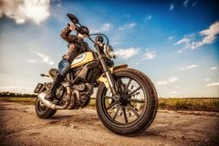Εικονίδιο αναλογικών συσκευών κρυπτοφώνησης - Ducati Στοκ Εικόνα