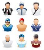 Εικονίδιο ανθρώπων ειδώλων: Αθλητισμός επαγγέλματος # 4 Στοκ εικόνα με δικαίωμα ελεύθερης χρήσης