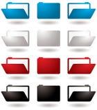 εικονίδιο γραμματοθηκών διανυσματική απεικόνιση