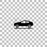 Εικονίδιο διαγνωστικών αυτοκινήτων επίπεδο διανυσματική απεικόνιση